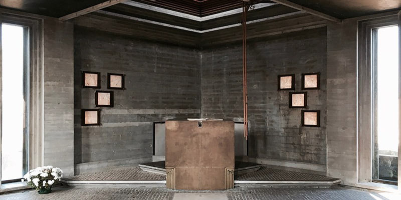 Brion Tomb and Cemetery by Carlo Scarpa