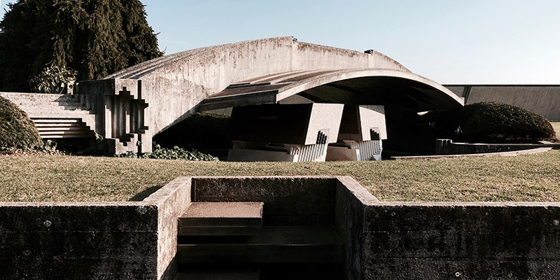 Brion Tomb Carlo Scarpa