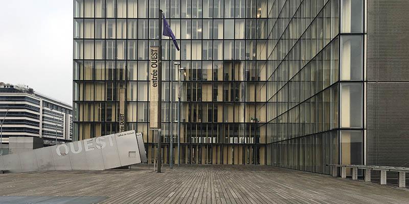 Bibiothèque National de France by Dominique Perrault Modern architecture in Paris