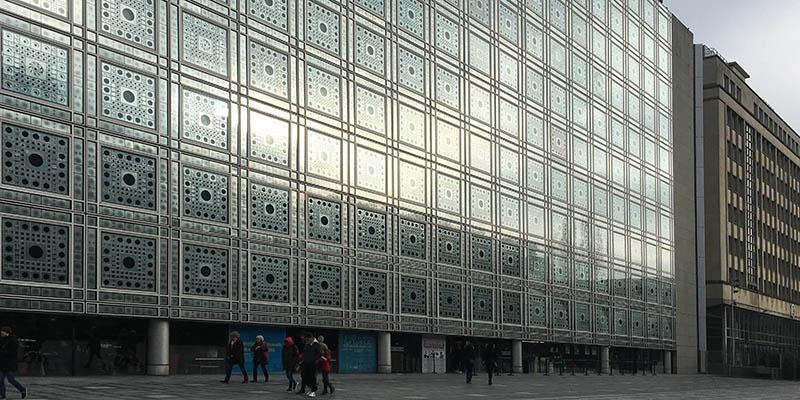 Institut du monde arabe by Ateliers Jean Nouvel Modern architecture in Paris