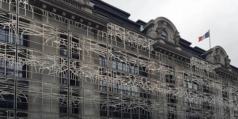 Modern architecture in Paris Ministère de la Culture et de la Communication