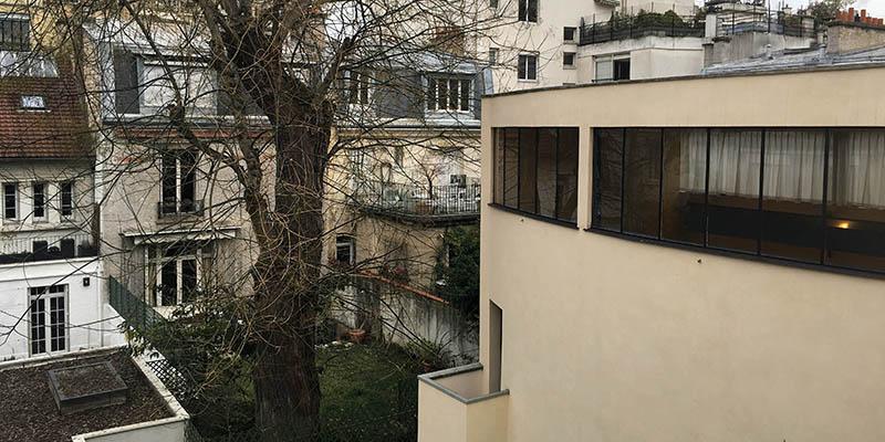 Modern architecture in Paris Maison La Roche