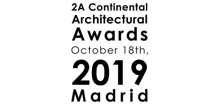 2ACAA 2a continental architectural award madrid