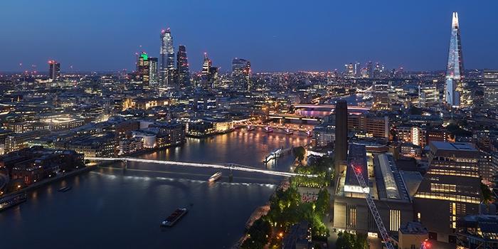 Illuminated River London
