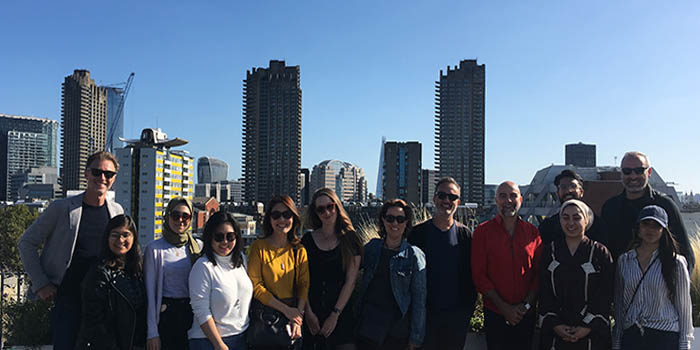 Architecture and design educational tour in London