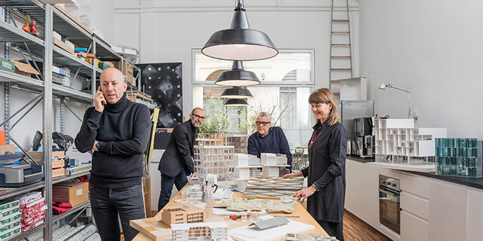 Piuarch during Brera Design Days 2019 with archivibe.com