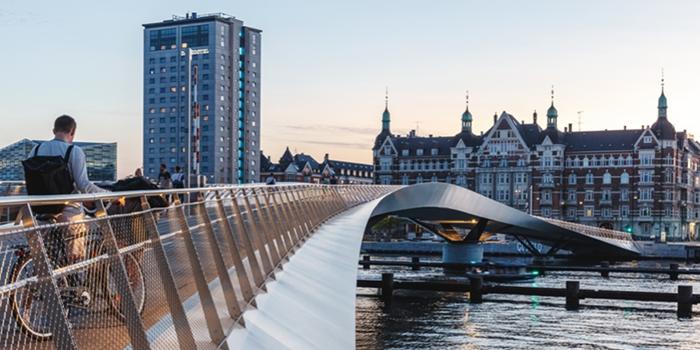 Lille Langebro bridge by WilkinsonEyre