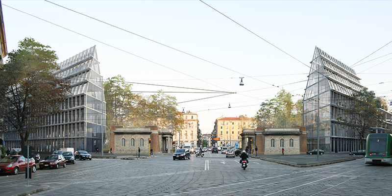 Porta Volta project by Herzog & de Meuron in Milan