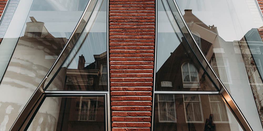 The Looking Glass façade designed by UNStudio in Amsterdam is a celebration of textiles, both in form and function.