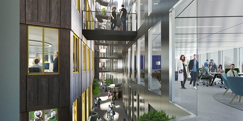 Tripolis office complex by MVRDV