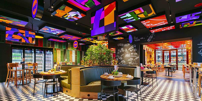 happyhappyjoyjoy restaurant Amsterdam by concrete