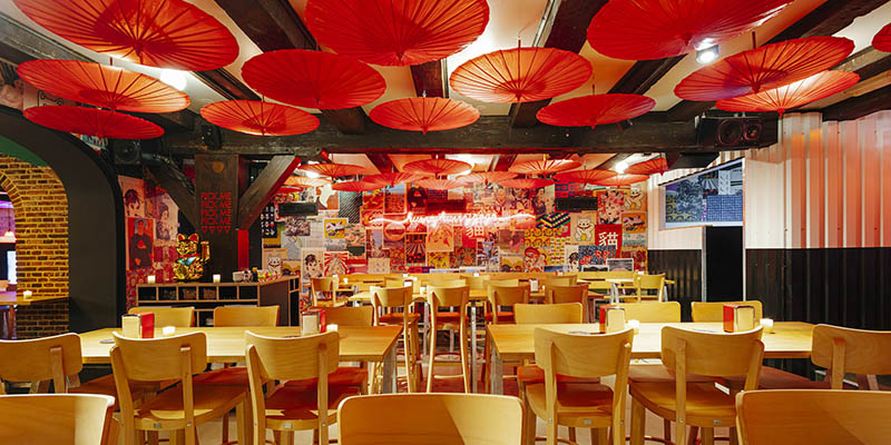 happyhappyjoyjoy restaurant Amsterdam