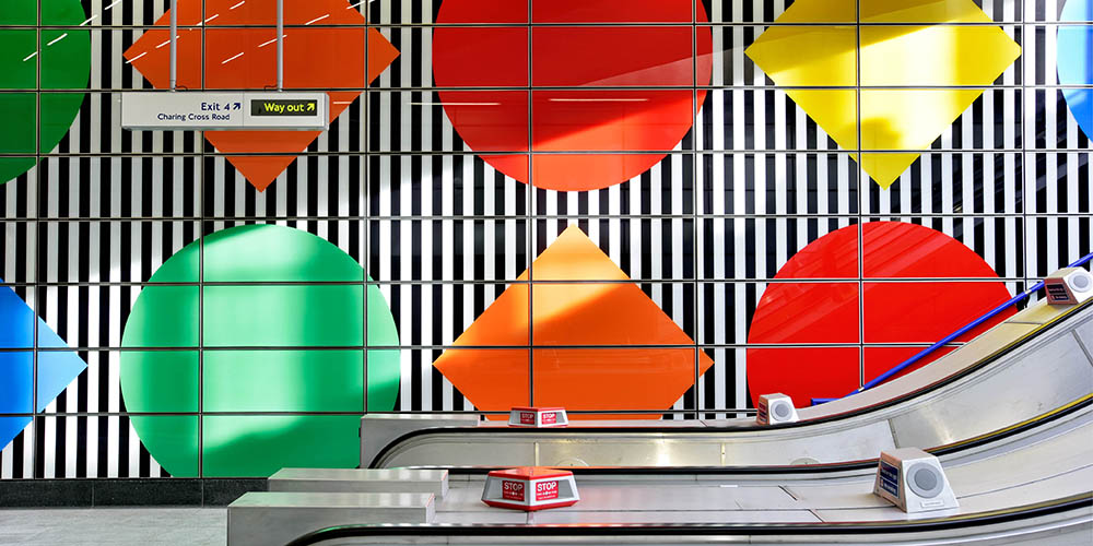 Tottenham Court Road Station upgrade by Hawkins/Brown