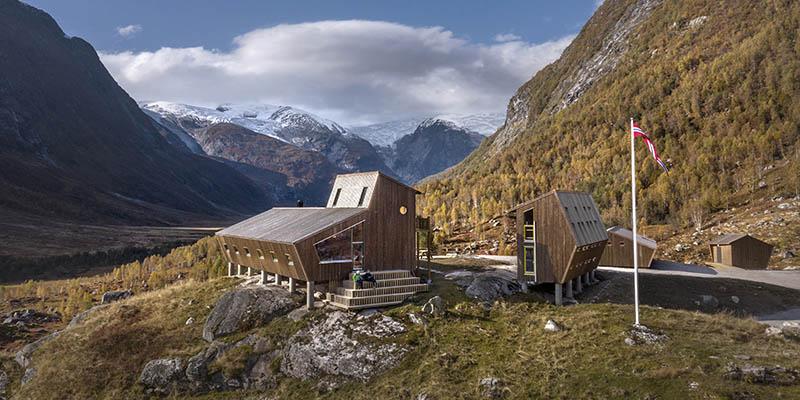 Snøhetta designed spectacular cabins