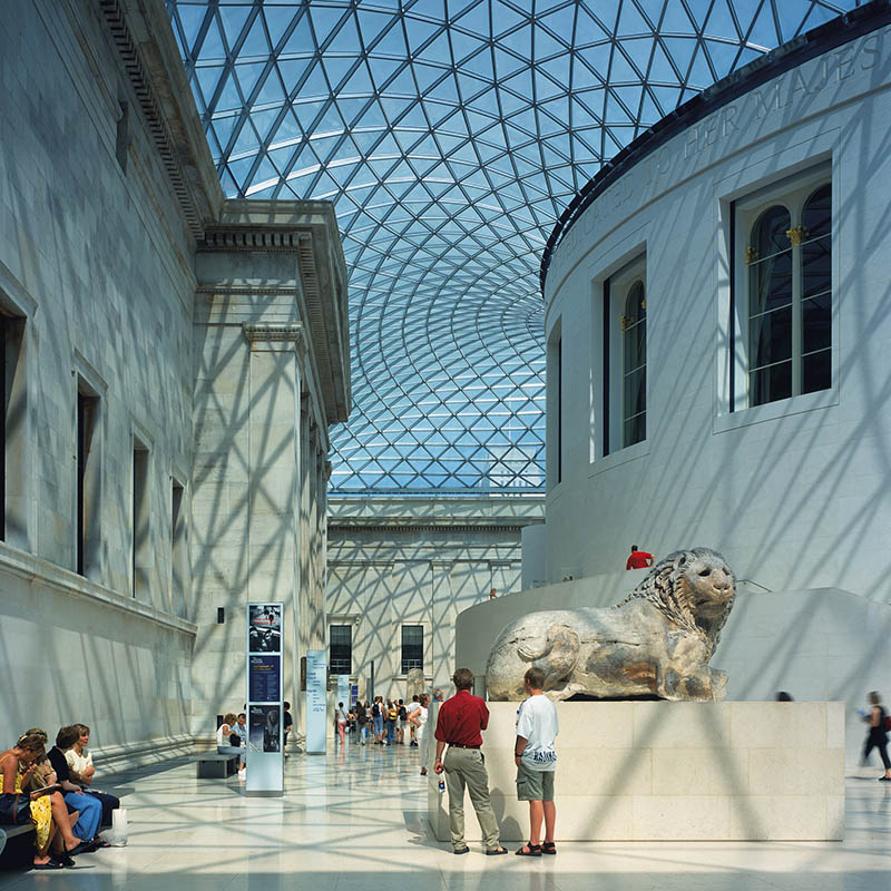 Great Court at the British Museum by Foster + Partners