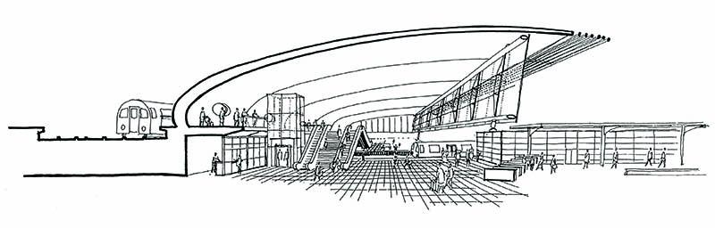 Stratford Regional Station by WilkinsonEyre