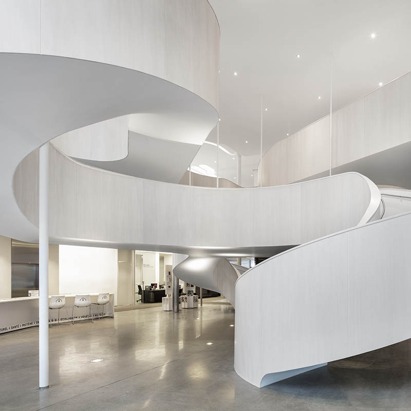 Most elegant spiral staircases in modern architecture