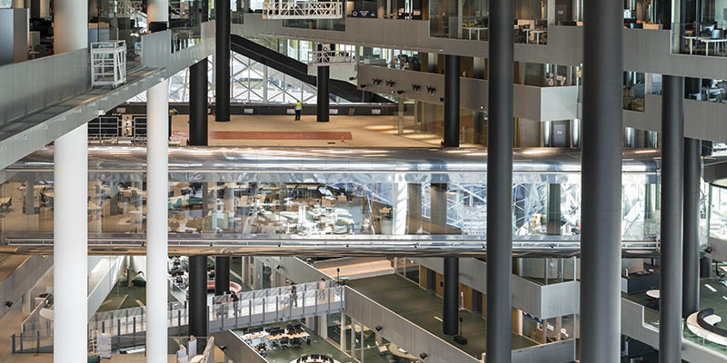 OMA'S AXEL SPRINGER BUILDING OPENS IN BERLIN