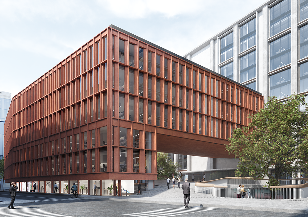 new building by Snøhetta and Park Associati in Milan