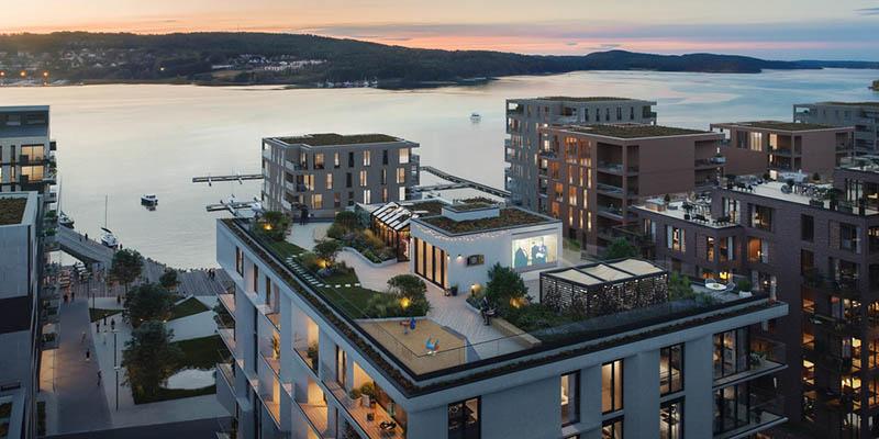 Paper-Like Landmark Building in Norway by AART