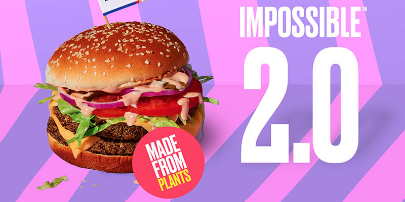 Impossible Burger 2.0 'A Better Meat for the Planet' byImpossible Foods