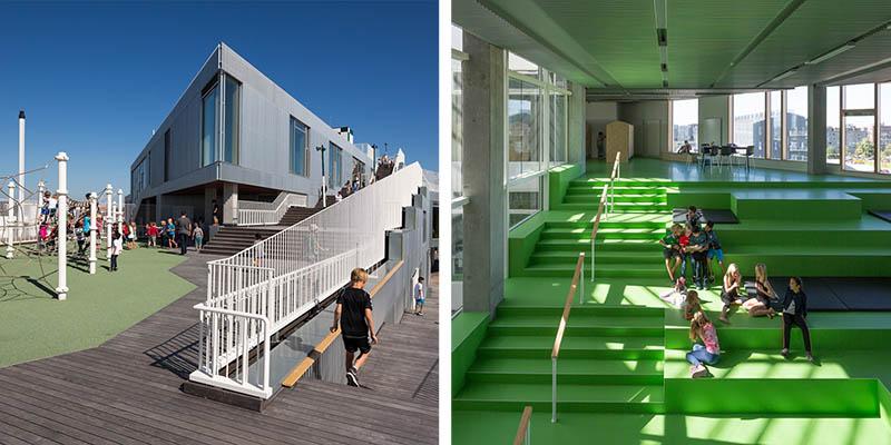 Sydhavnen School by JJW Arkitekter