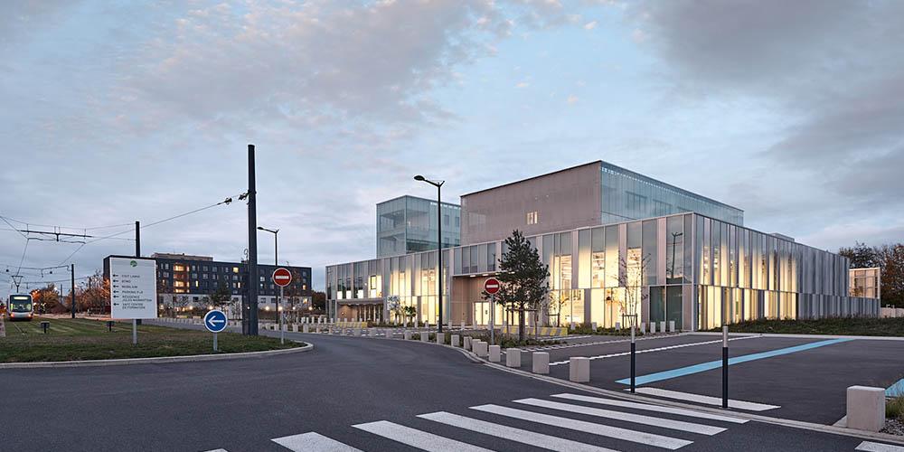 Technopôle Transalley development by Coldefy