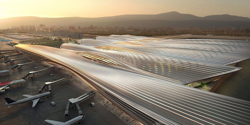 RSHP and CNADRI win competition to design Terminal 4 at Bao'an International Airport in Shenzhen, China