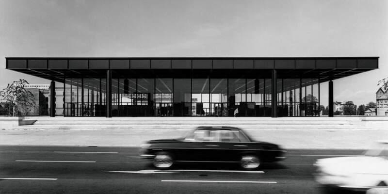 Archiv Neue Nationalgalerie, Nationalgalerie, Staatliche Museen zu Berlin, Reinhard Friedrich