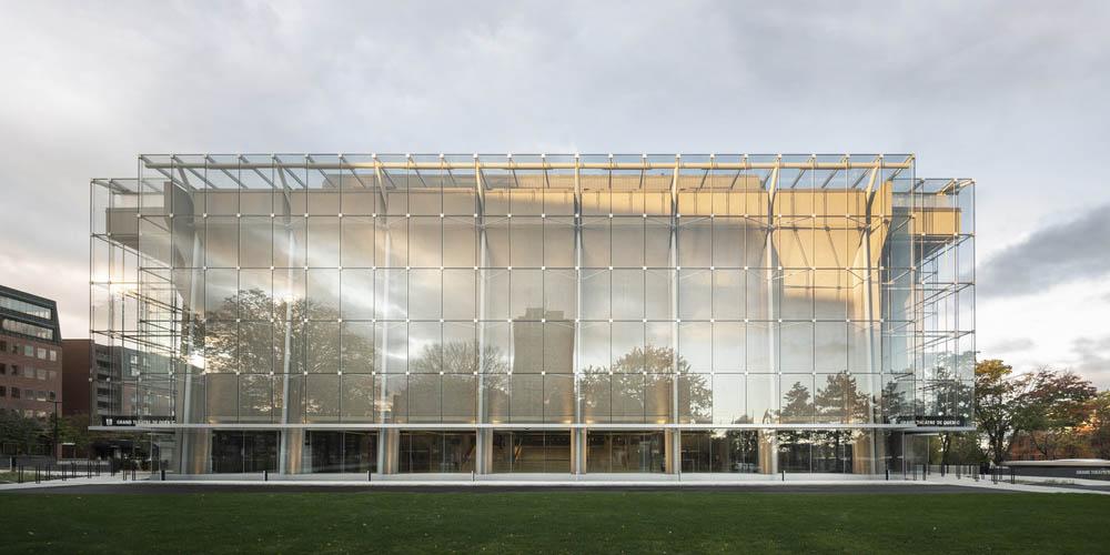 A new sustainable glass envelope for the Grand Théâtre de Québec