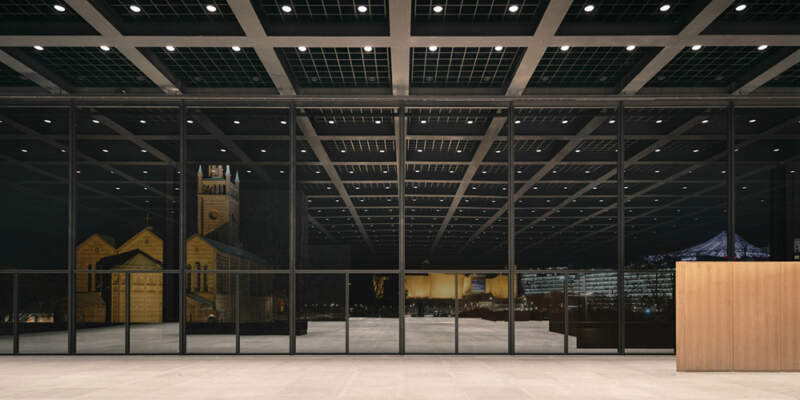 Neue Nationalgalerie refurbishment in Berlin by David Chipperfield Architects