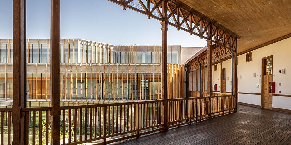 Matta Sur, heritage restoration by Luis Vidal + Architects