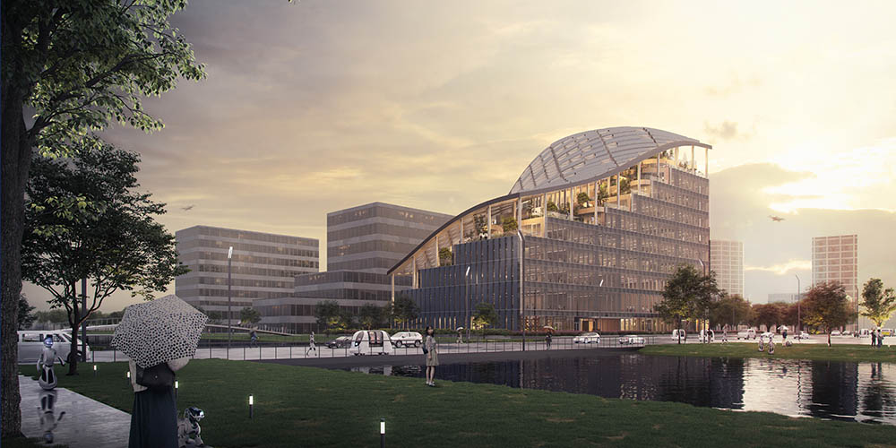 MVRDV designs Lankuaikei headquarters in Shanghai
